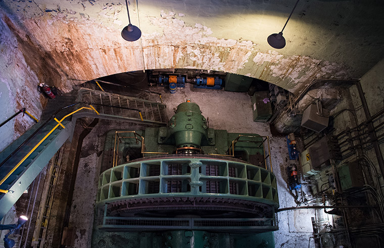 The Powerhouse turbine was decommissioned in 2015, after generating power for nearly 100 years.