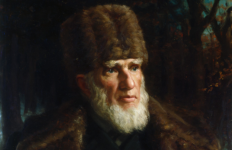 Painting of John R. Booth, circa 1900. Photo credit: John Wycliffe Lowes Forster, Library and Archives Canada.